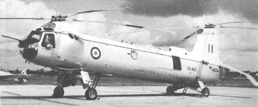 Belvedere XG452, just before its record-breaking flight to Malta in 1960.