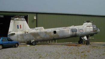 XG452 in 2001, awaiting restoration