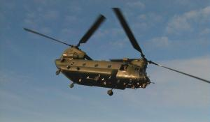 Chinook in Sunshine - Click to enlarge