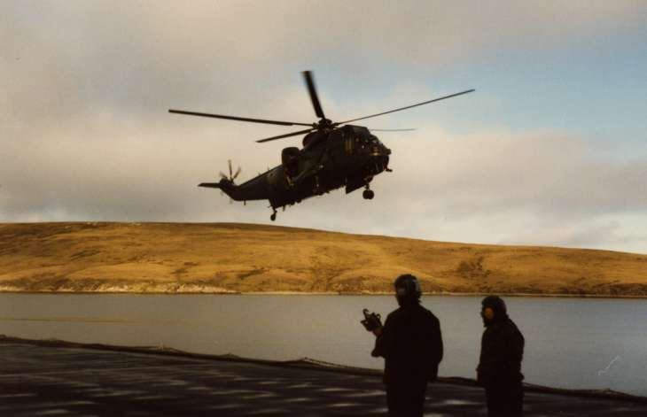 Return to the Falklands 1983