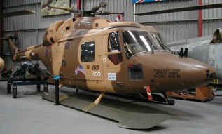 G-LYNX on display in The Museum