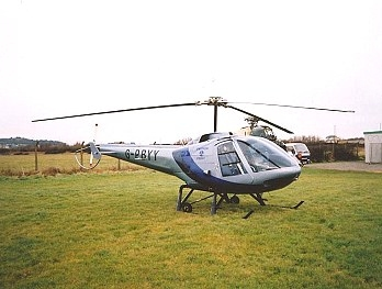 Enstrom 280, G-PBYY,  visiting The Helicopter Museum
