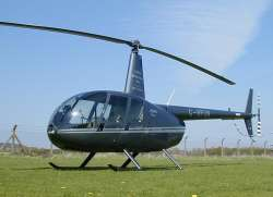 Robinson R44, G-RFUN  --  Click to enlarge