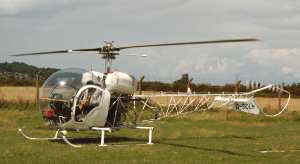 Bell 47G-5,  G-SOLH  --  Click to enlarge