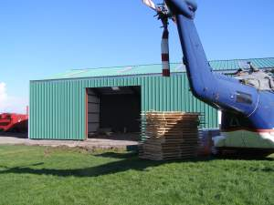 Exterior of Hangar Extension on 3rd March 2007