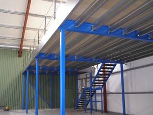 Mezzanine Floor in Engineering Hangar