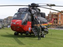 Belgian Air Force Westland Sea King Mk.48, RS-05, at Weston Helidays