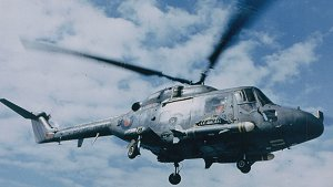 Westland Lynx with Sea Skua missiles
