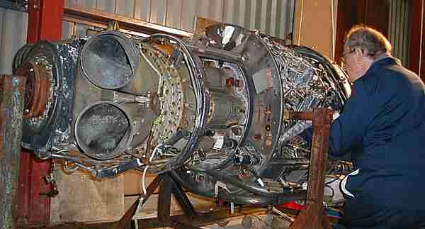 Rolls-Royce Napier Gazelle Engine
