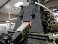 XD163 Cockpit Bulkhead after Restoration