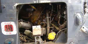 XM328 starboard side engine access