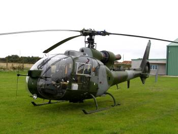 SA.341 Gazelle AH1 of the Army Air Corps